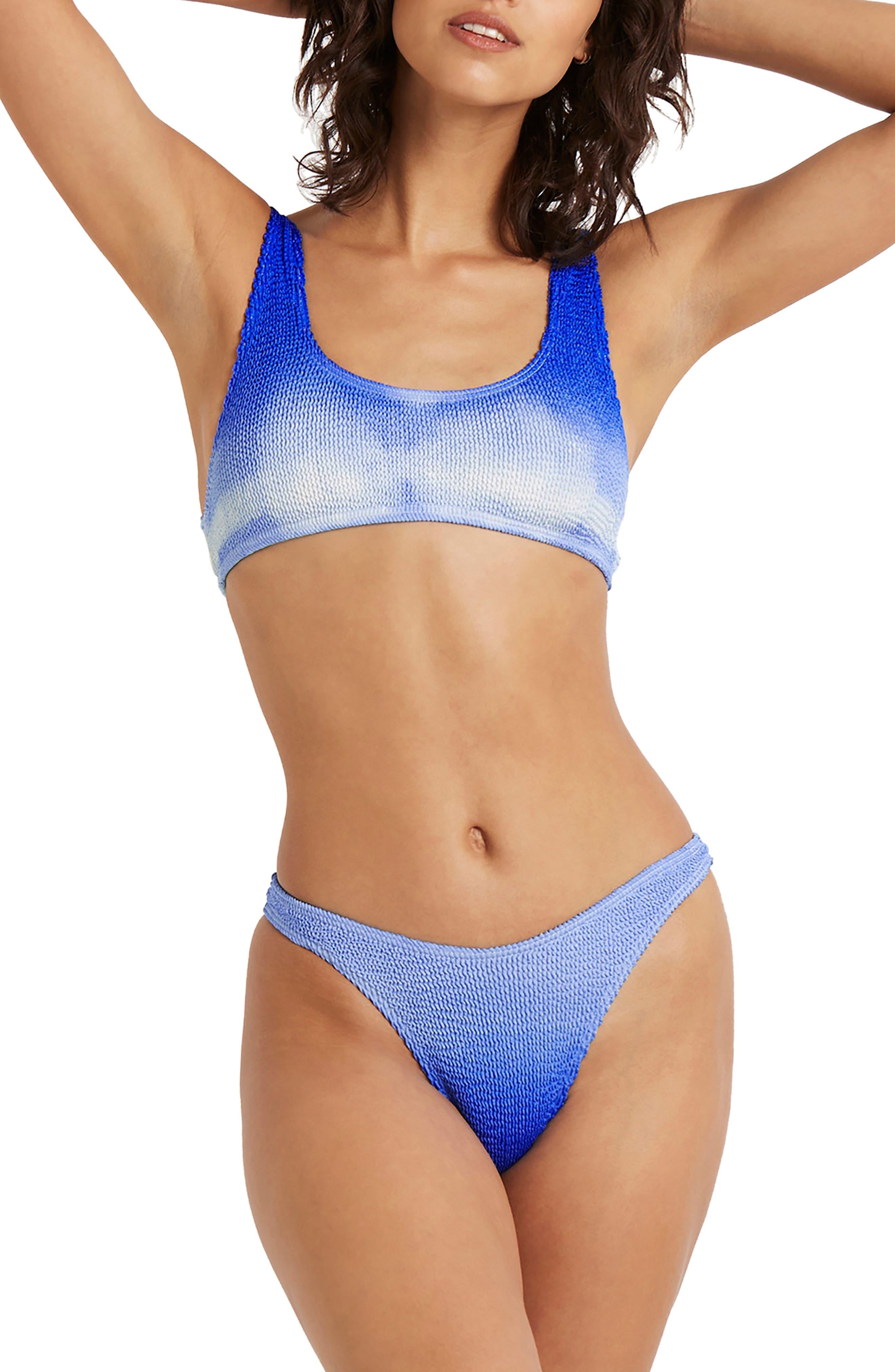 The Malibu Bikini in Bel Air Blue at Nordstrom