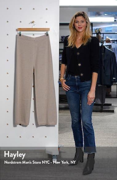 Sofocle Virgin Wool Knit Pants, sales video thumbnail