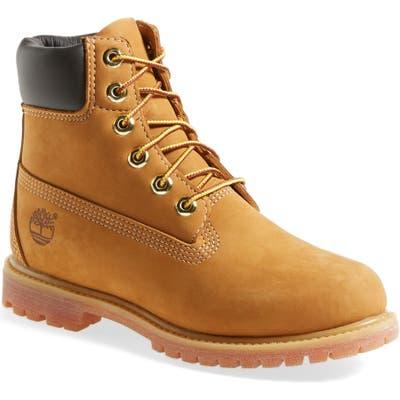Timberland 6-Inch Premium Waterproof Boot, Metallic