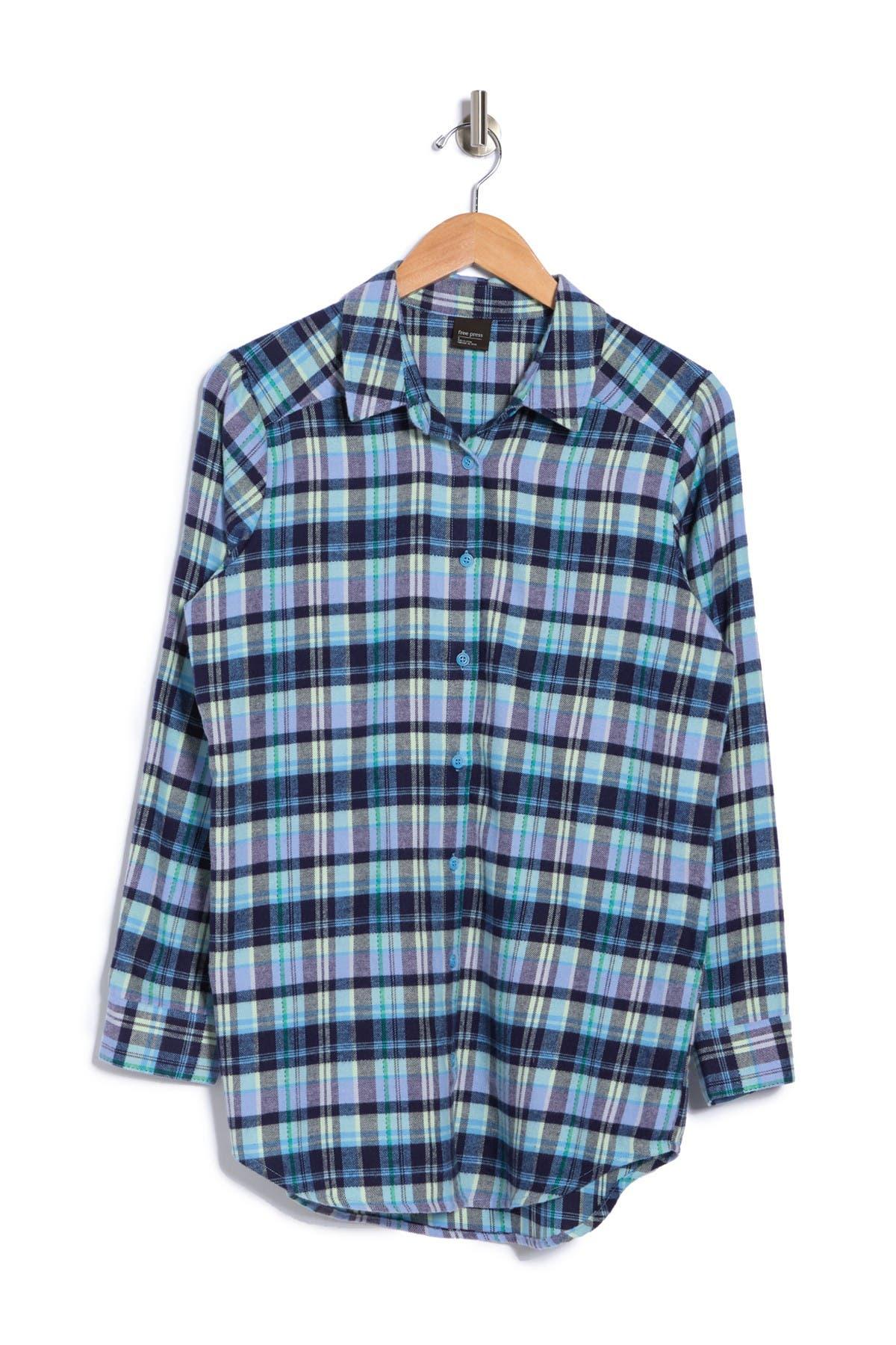 Free Press Flannel Nightshirt
