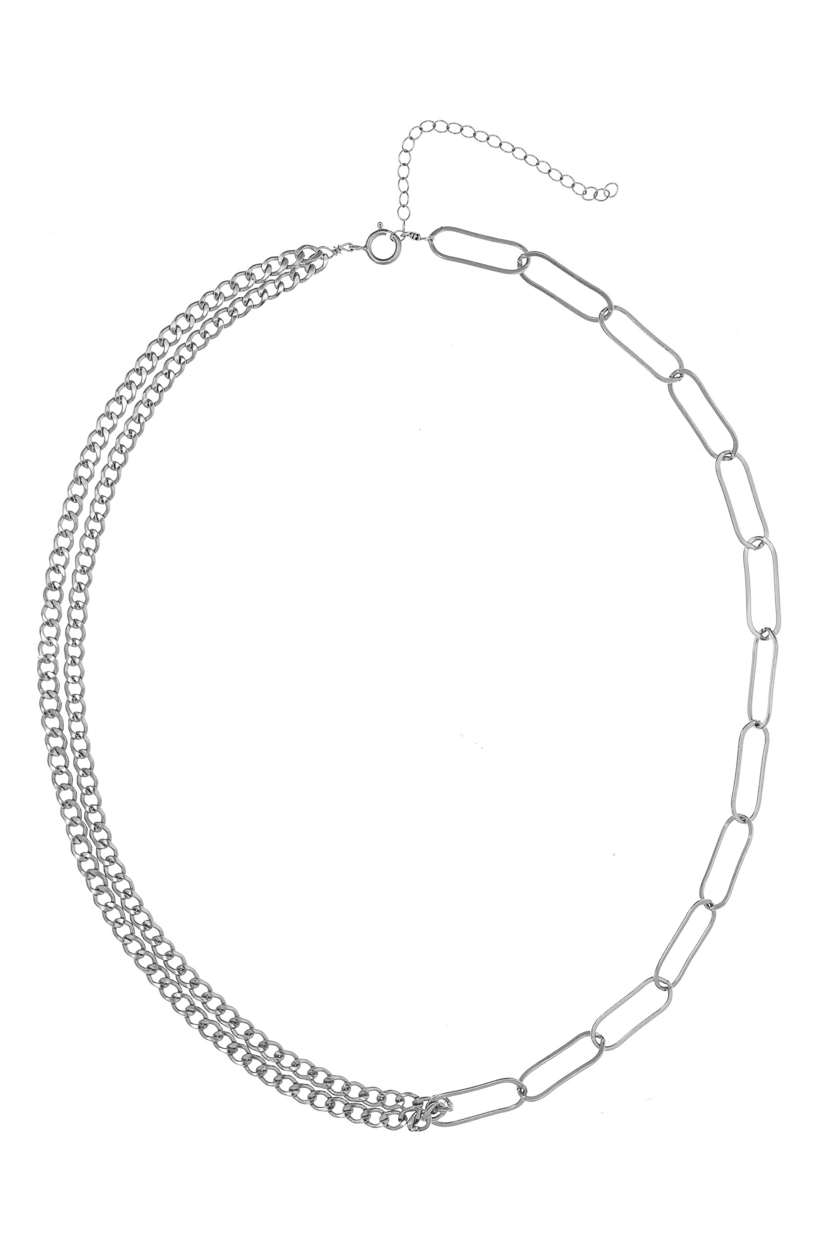 Lilian Chain Link Necklace