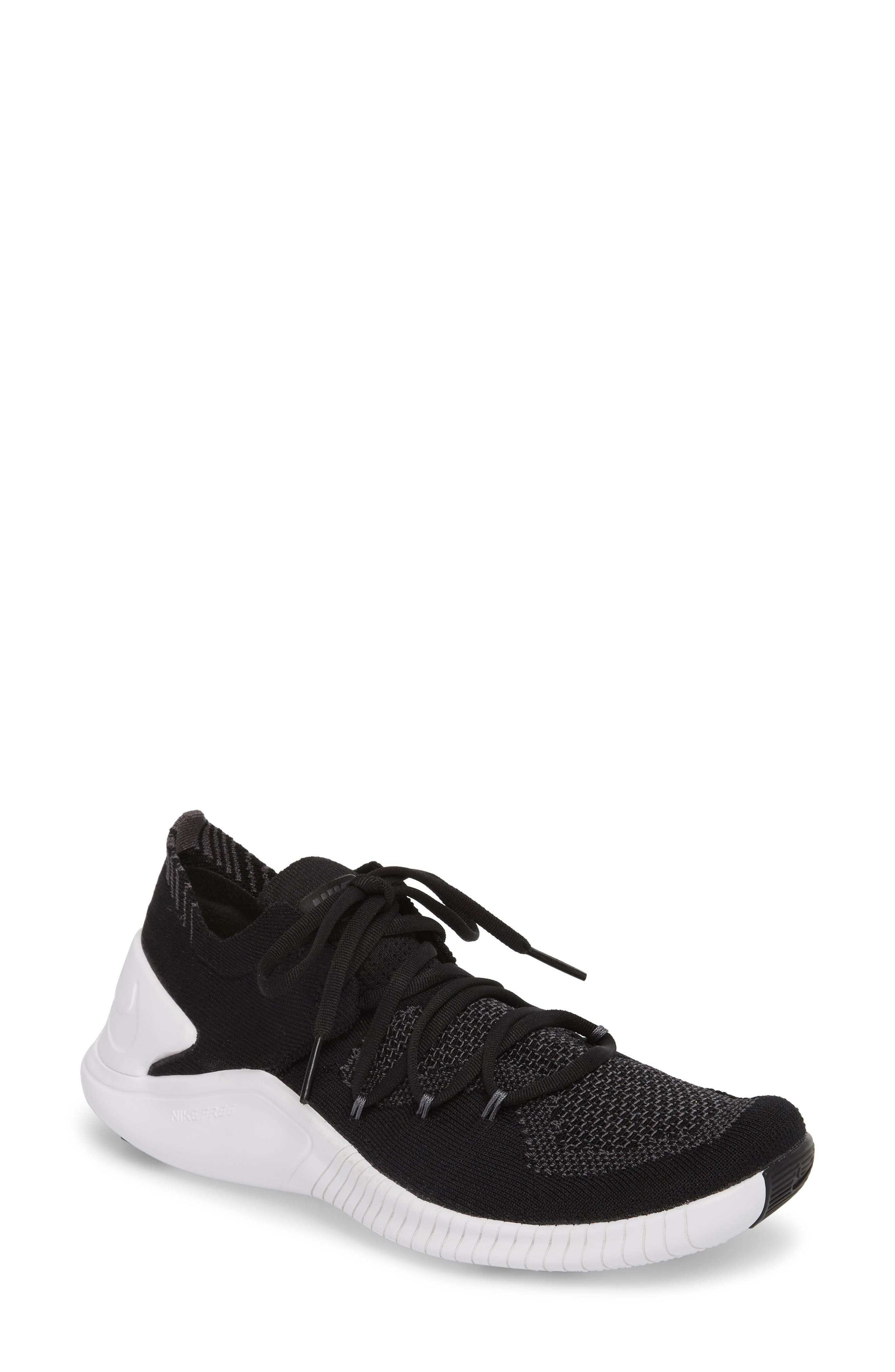 Free TR Flyknit 3 Training Shoe, Main, color, 001