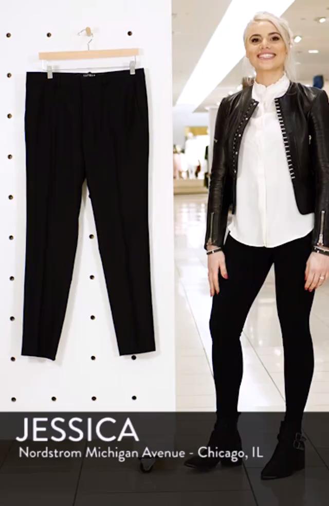 Black Skinny Fit Dress Pants, sales video thumbnail