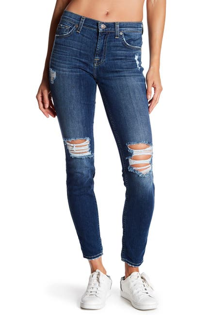 Image of 7 For All Mankind Gwenevere Skinny Ankle Jeans