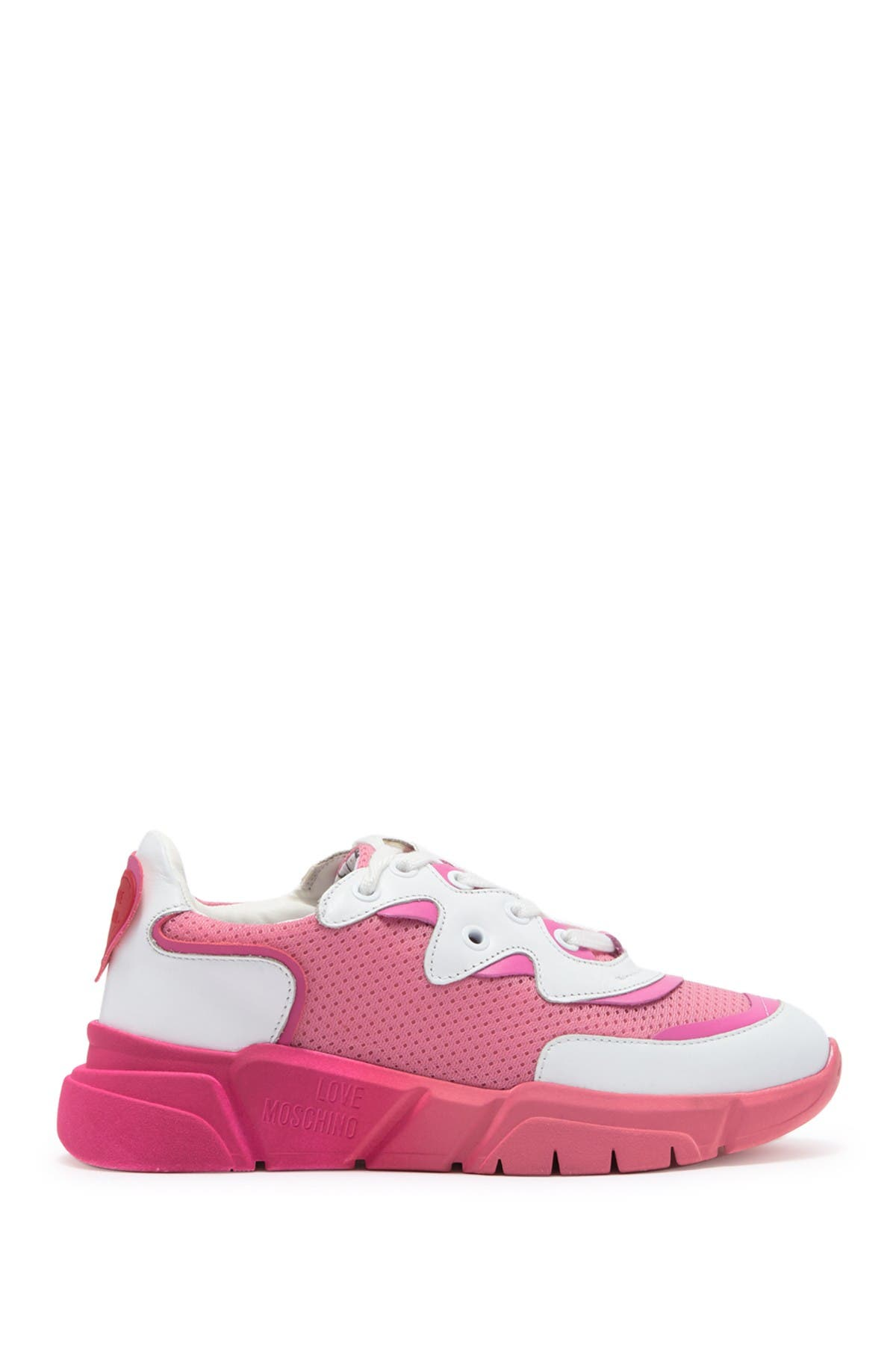 Image of LOVE Moschino Perforated Fashion Sneaker