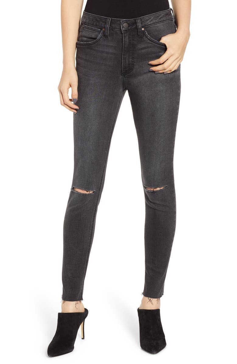 WRANGLER Ripped High Waist Skinny Jeans, Main, color, 020