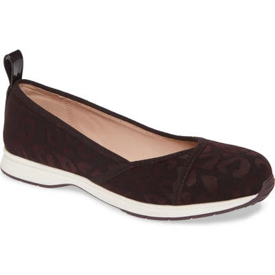 Taryn Rose Bobbi Flat- Brown