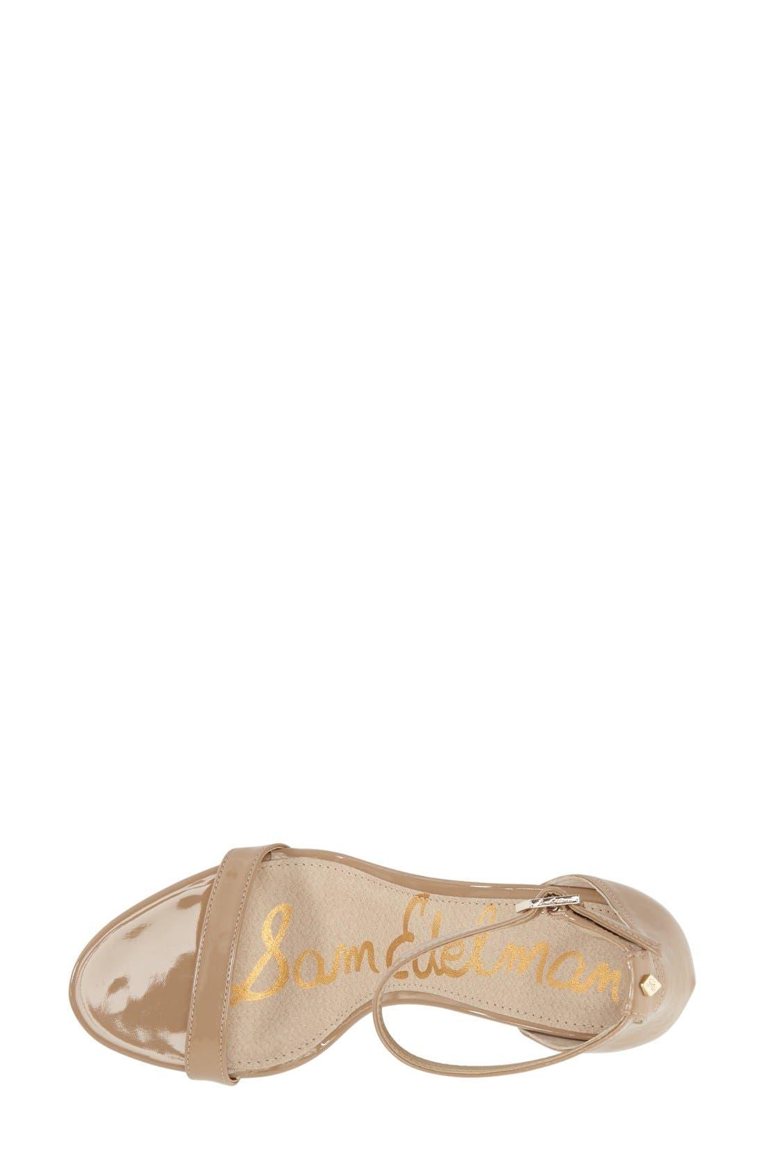 ,                             'Patti' Ankle Strap Sandal,                             Alternate thumbnail 182, color,                             252