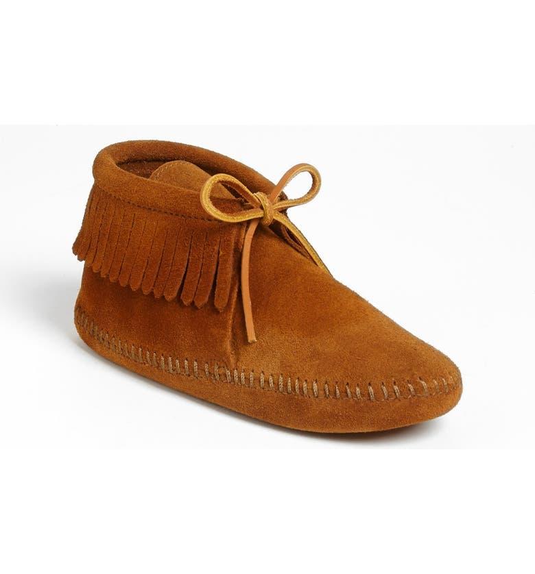 MINNETONKA 'Classic Fringe' Boot, Main, color, 211