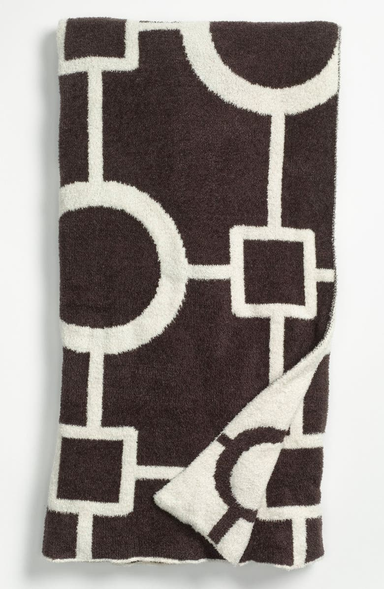 GIRAFFE AT HOME 'Matrix Dolce' Throw, Main, color, CHOCOLATE