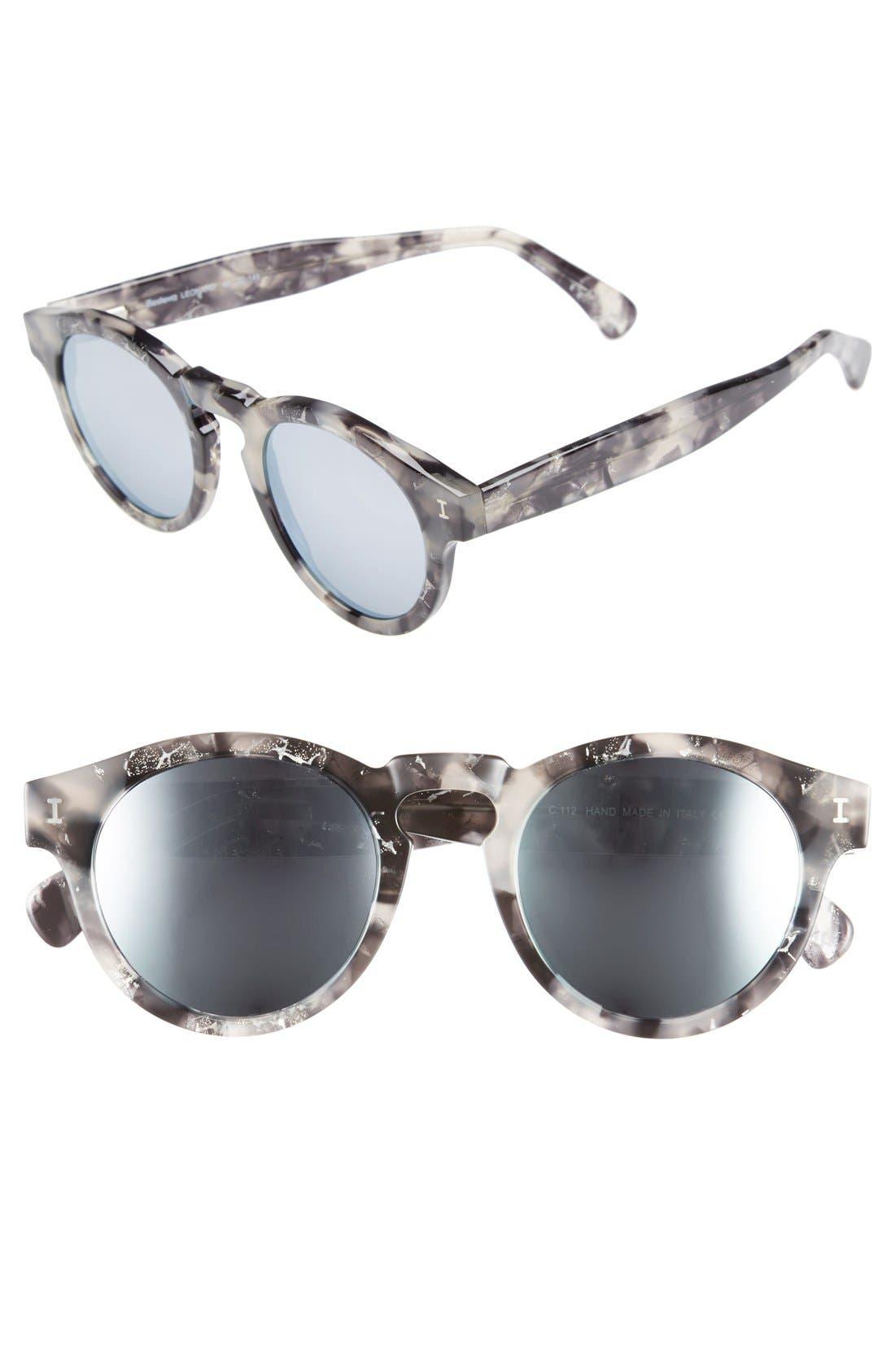 ,                             'Leonard' 47mm Sunglasses,                             Main thumbnail 23, color,                             018