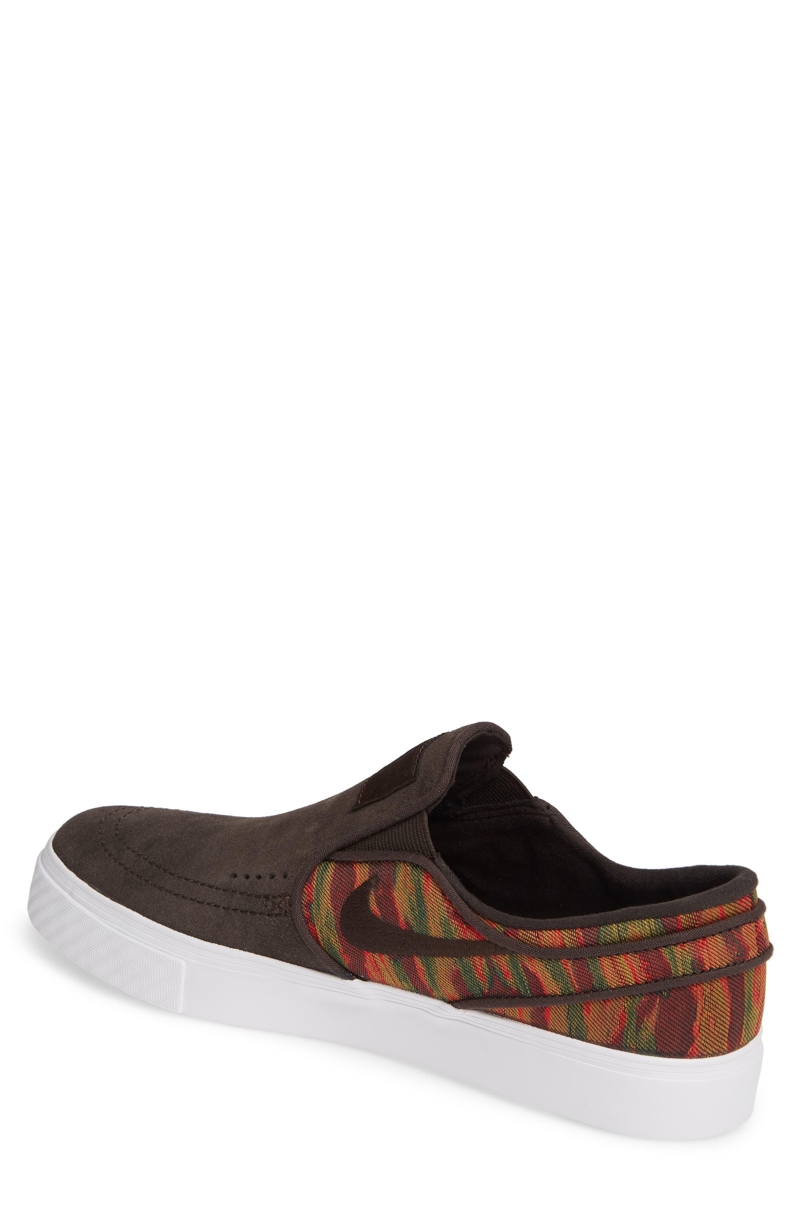 ,                             'SB Zoom Stefan Janoski' Slip-On Premium Sneaker,                             Alternate thumbnail 2, color,                             200