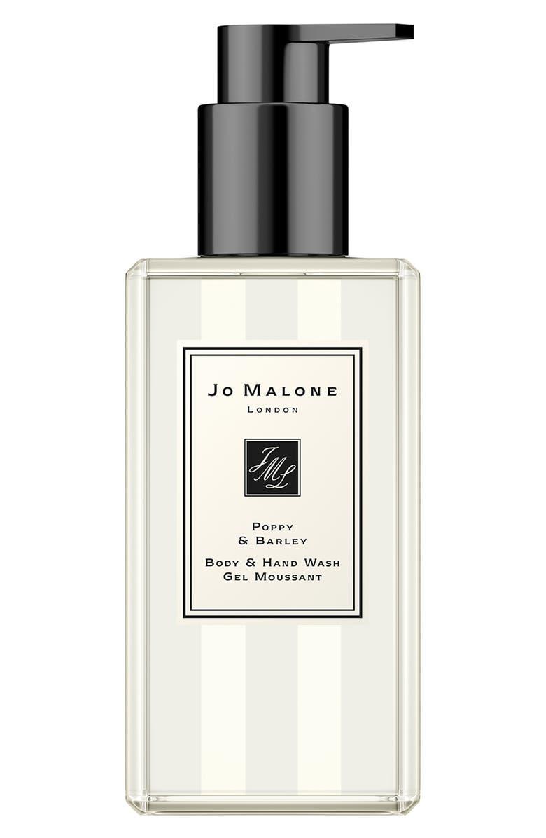 JO MALONE LONDON<SUP>™</SUP> Poppy & Barley Body & Hand Wash, Main, color, NO COLOR