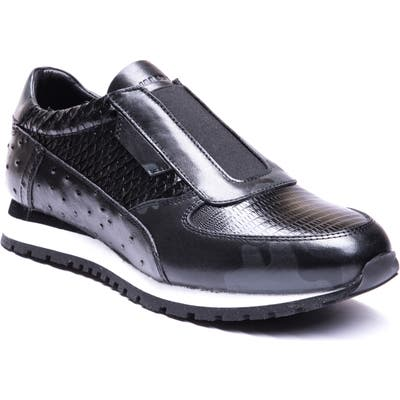 Jared Lang Barrett Embossed Slip-On Sneaker