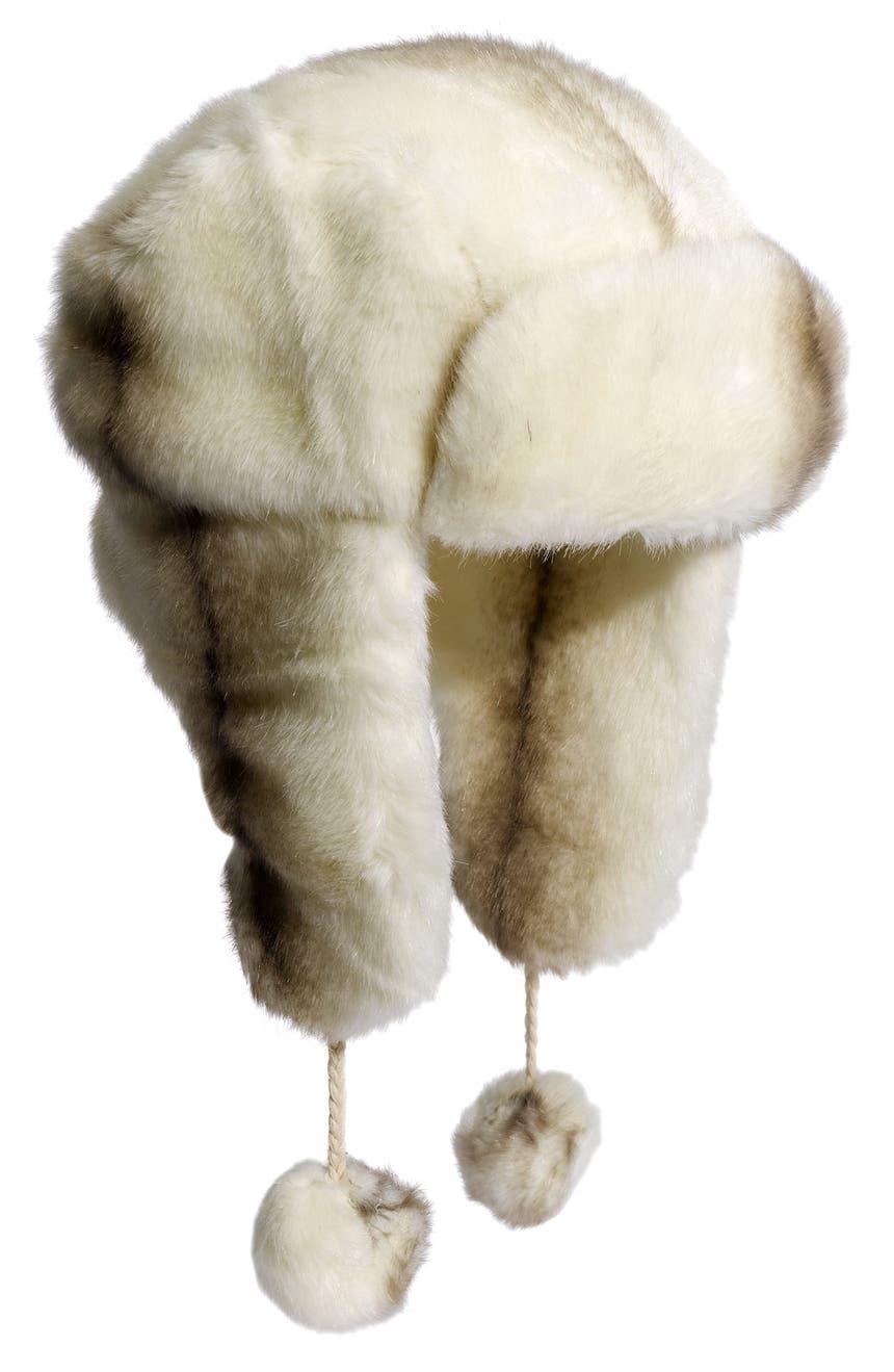 184d9178 David & Young Faux Fur Trapper Hat | Nordstrom