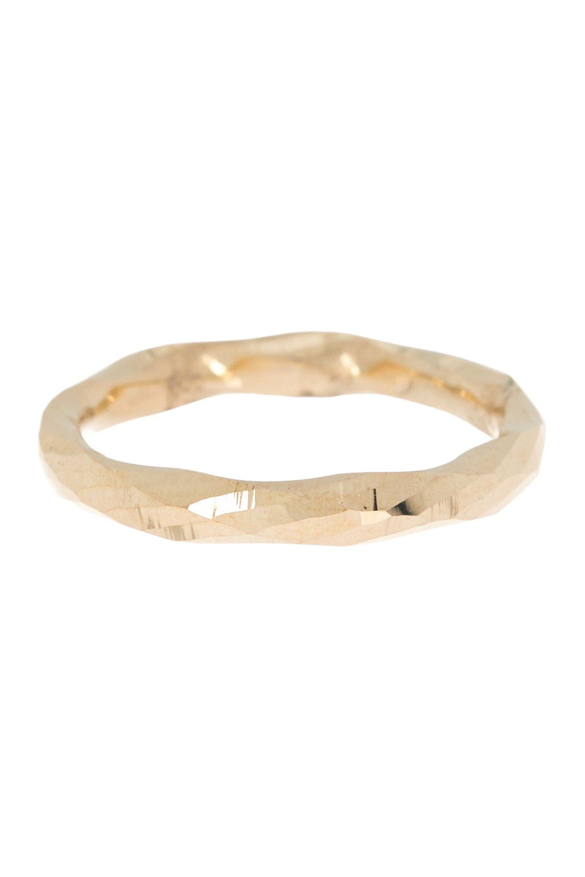 Image of Candela 10K Yellow Gold Textured Ring - Size 7