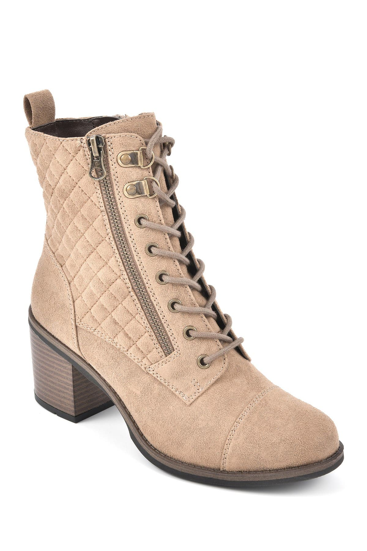 Image of White Mountain Footwear Dorsett Block Heel Bootie