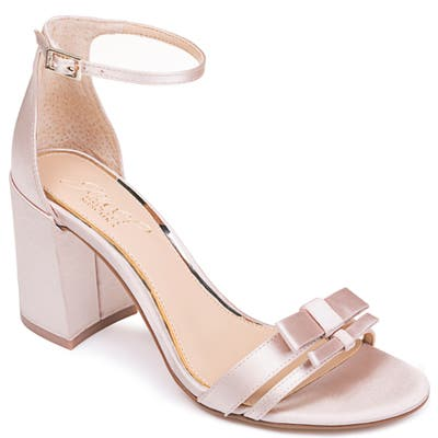 Jewel Badgley Mischka Rio Sandal- Pink