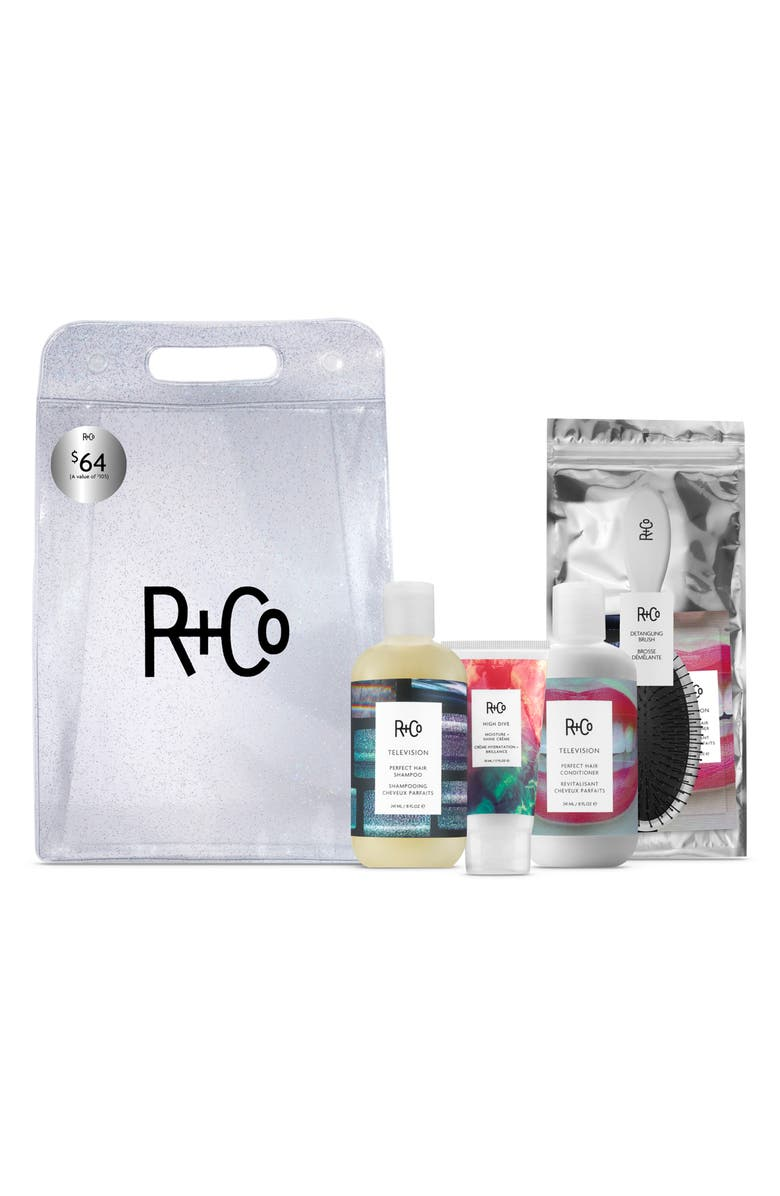 R+CO SPACE.NK.apothecary R+Co Television Hair Care Set, Main, color, 000