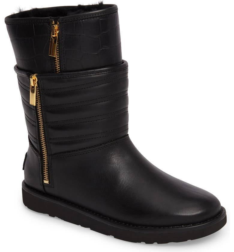 d1ba7878d70 Aviva Genuine Shearling Lined Boot