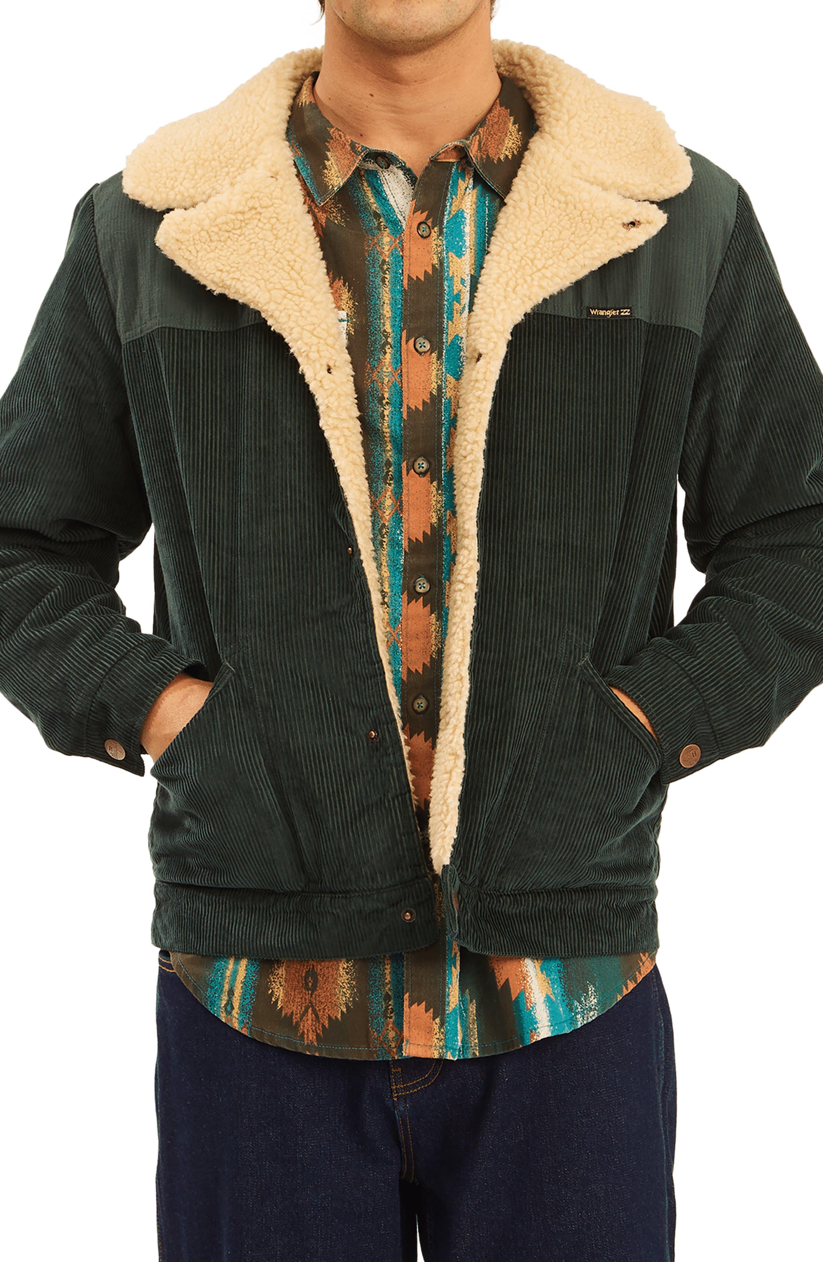 X Wrangler Range Fleece Lined Corduroy Jacket