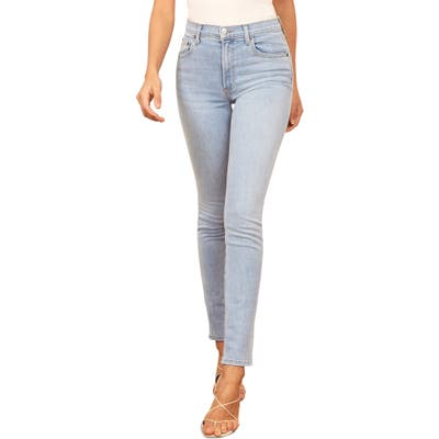 Reformation High & Skinny Jeans, Blue