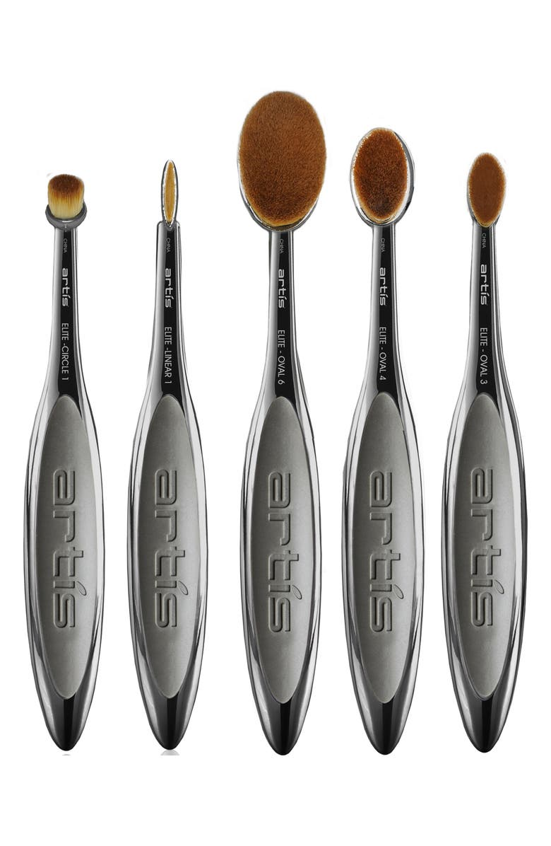 ARTIS Elite Smoke 5-Piece Brush Set, Main, color, NO COLOR