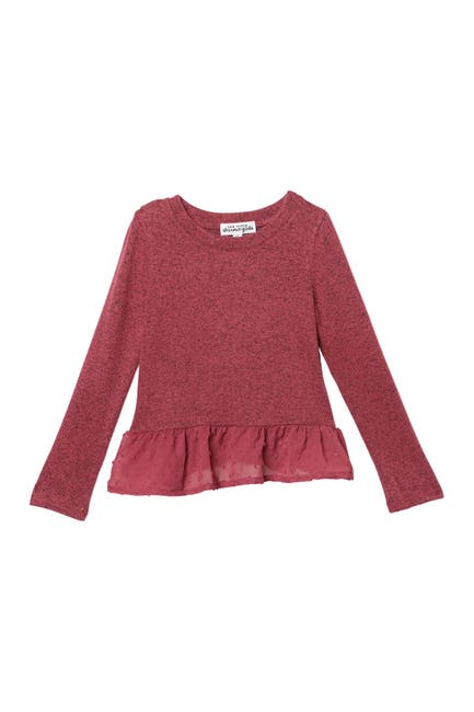 Image of Ten Sixty Sherman Crew Neck Babydoll Top
