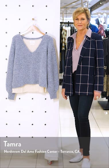 Tess Colorblock Alpaca Blend Sweater, sales video thumbnail