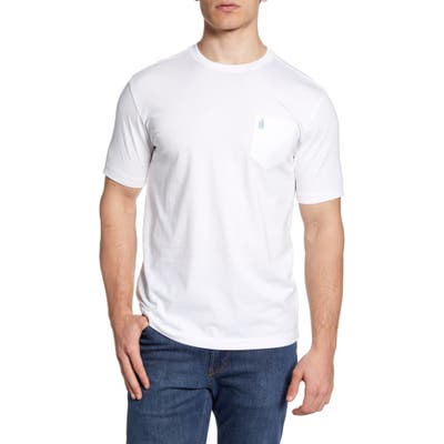 Johnnie-O Dale Pocket T-Shirt, White