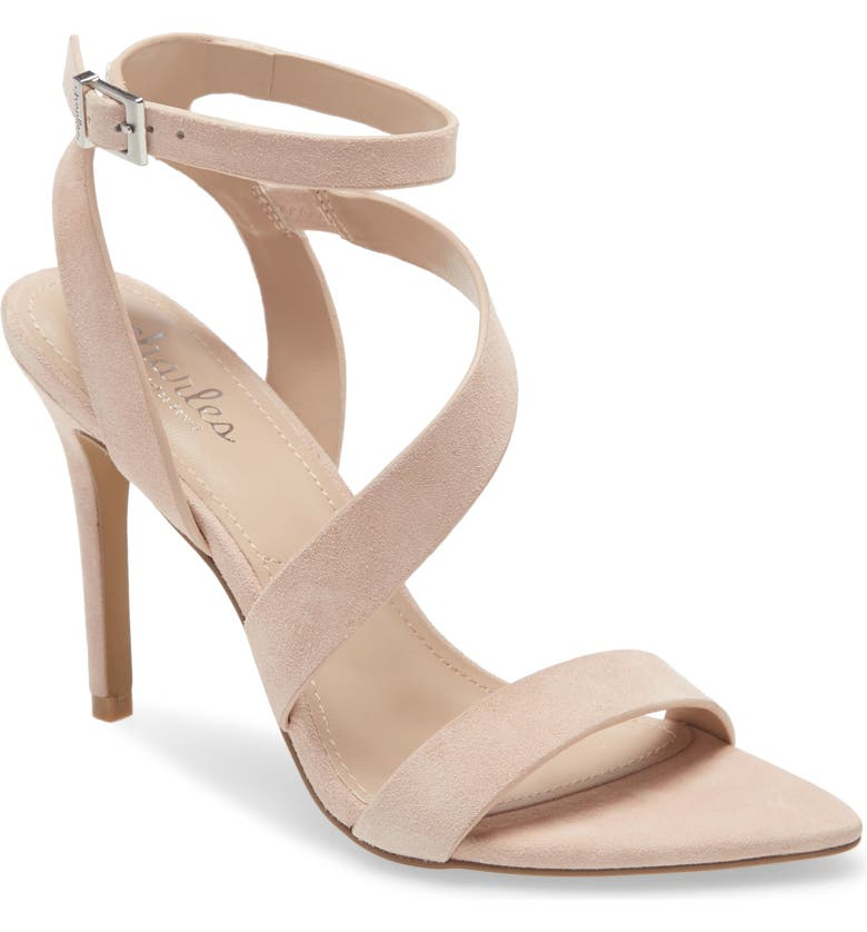 CHARLES BY CHARLES DAVID Tracker Sandal, Main, color, POWDER BLUSH SUEDE