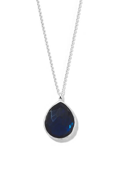 Ippolita WONDERLAND LARGE TEARDROP PENDANT NECKLACE