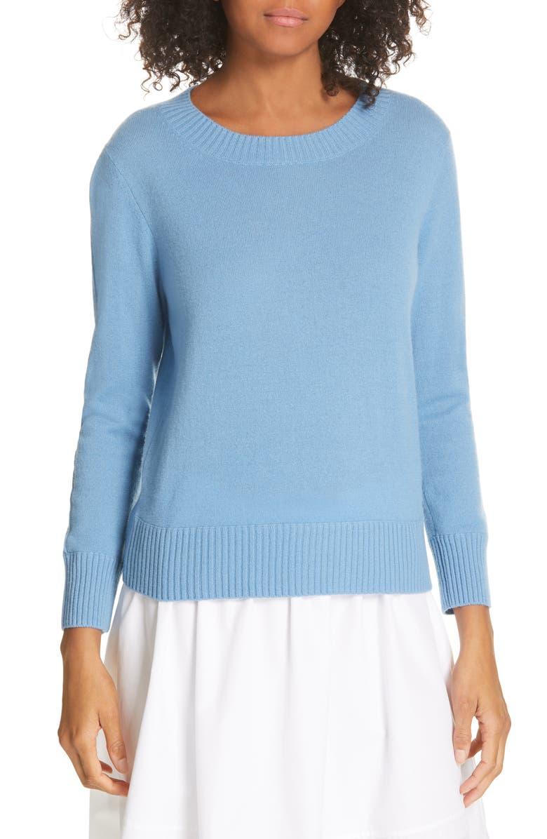 VINCE Shrunken Cashmere Sweater, Main, color, 465