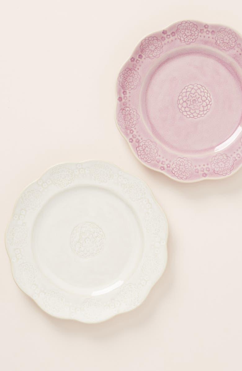 ANTHROPOLOGIE Veru Side Plate, Main, color, LAVENDER