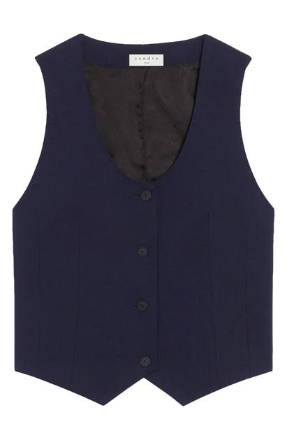 Sandro Tops V-NECK VEST
