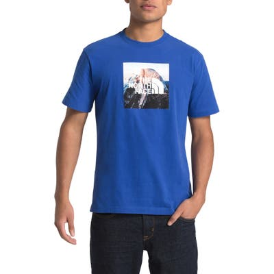 The North Face Clean Ascent Graphic T-Shirt, Blue