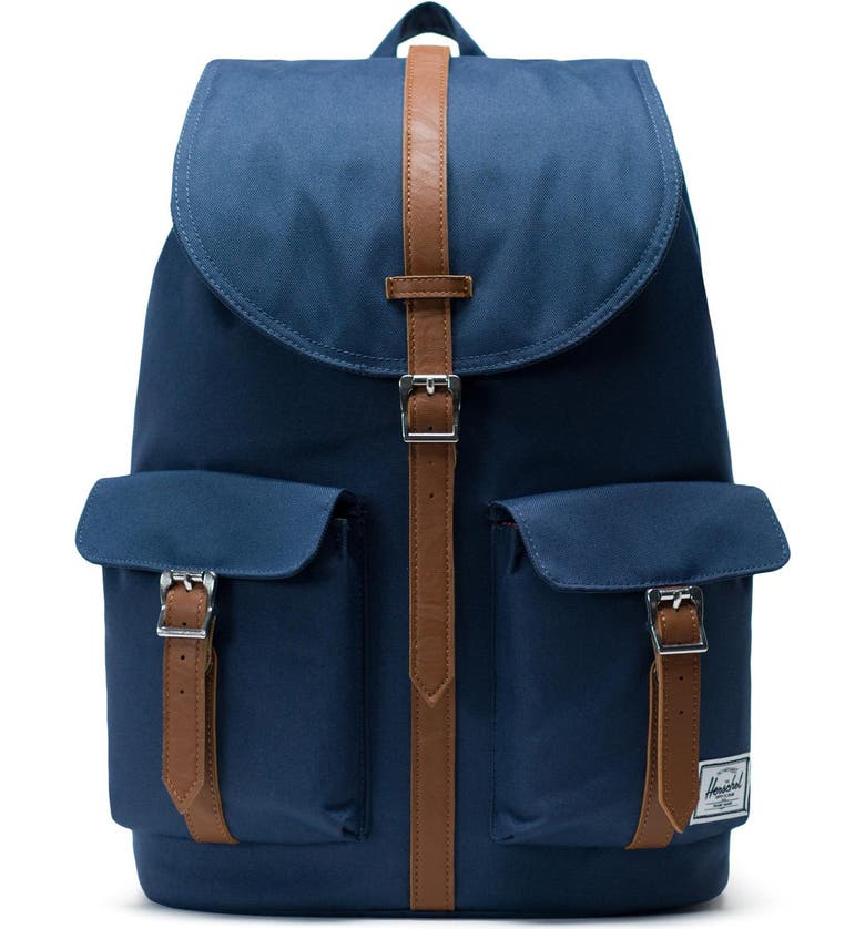 HERSCHEL SUPPLY CO. Dawson Backpack, Main, color, NAVY/ TAN