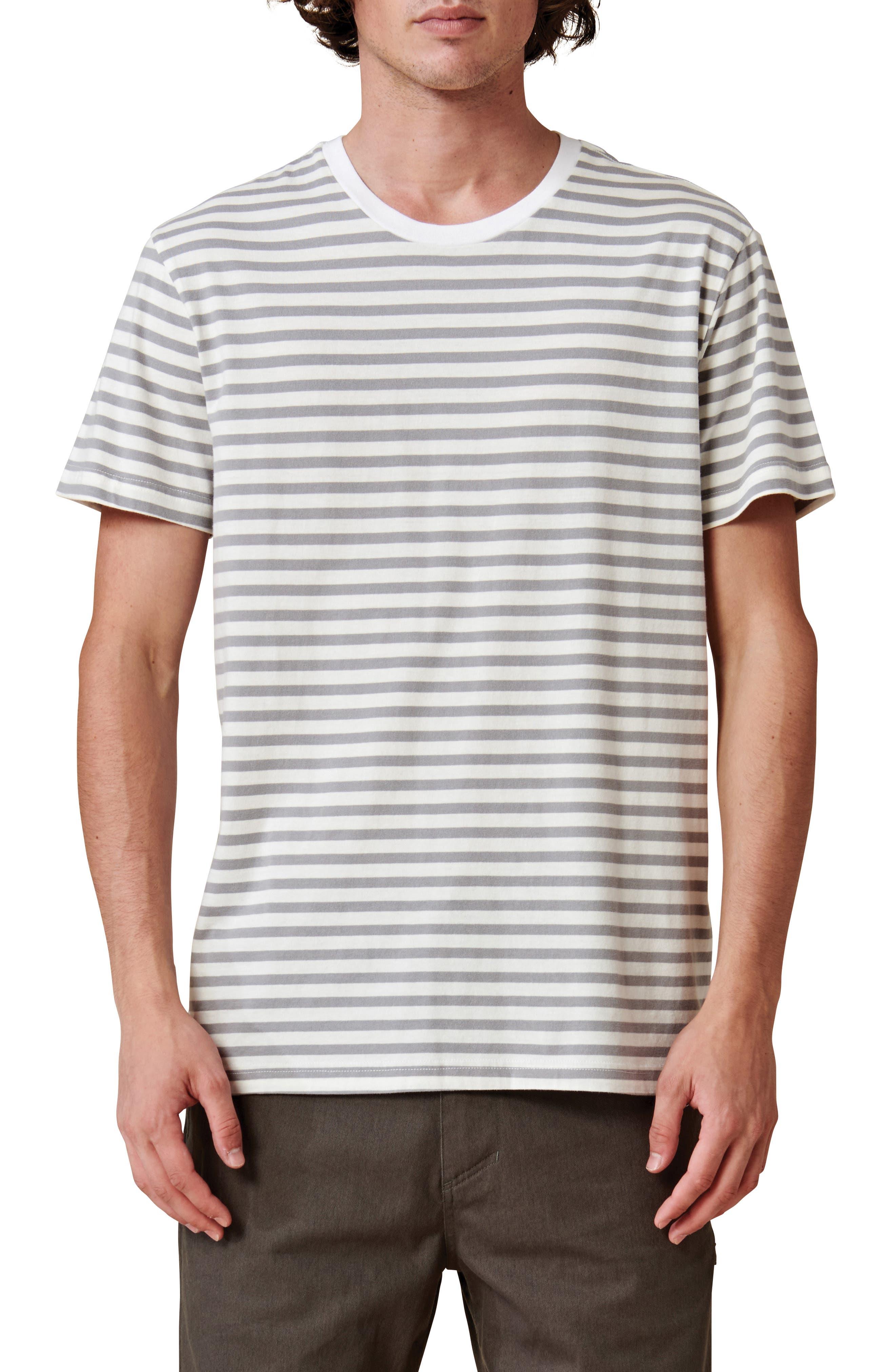 Horizon Stripe Organic Cotton T-Shirt