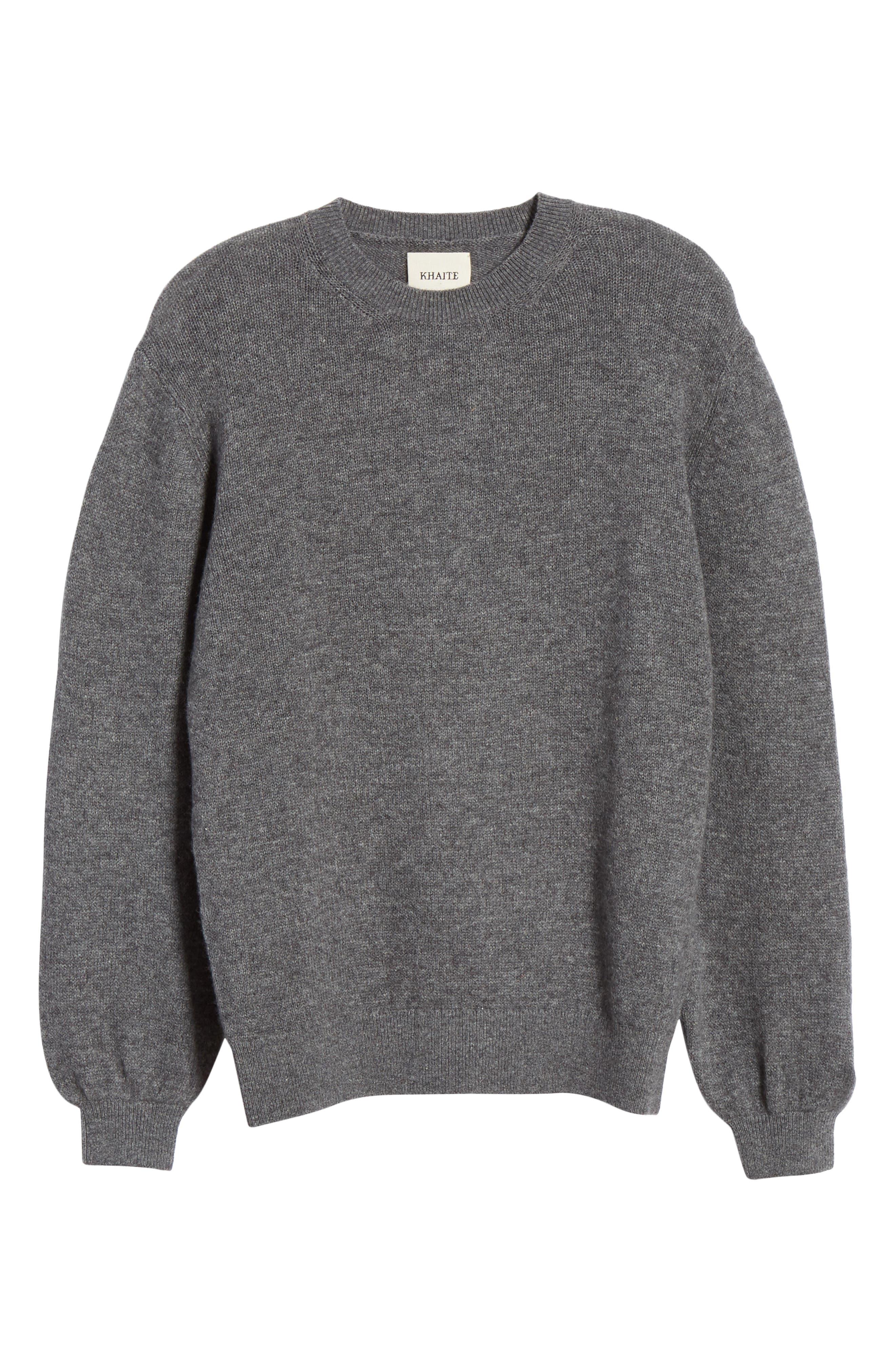 ,                             Viola Cashmere Sweater,                             Alternate thumbnail 7, color,                             GREY