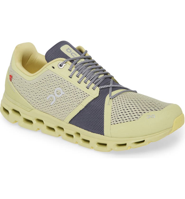 ON Cloudstratus Running Shoe, Main, color, PISTACHIO/ GREY