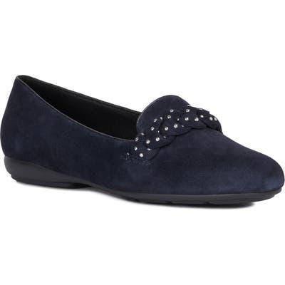 Geox Annytah Studded Loafer, Blue