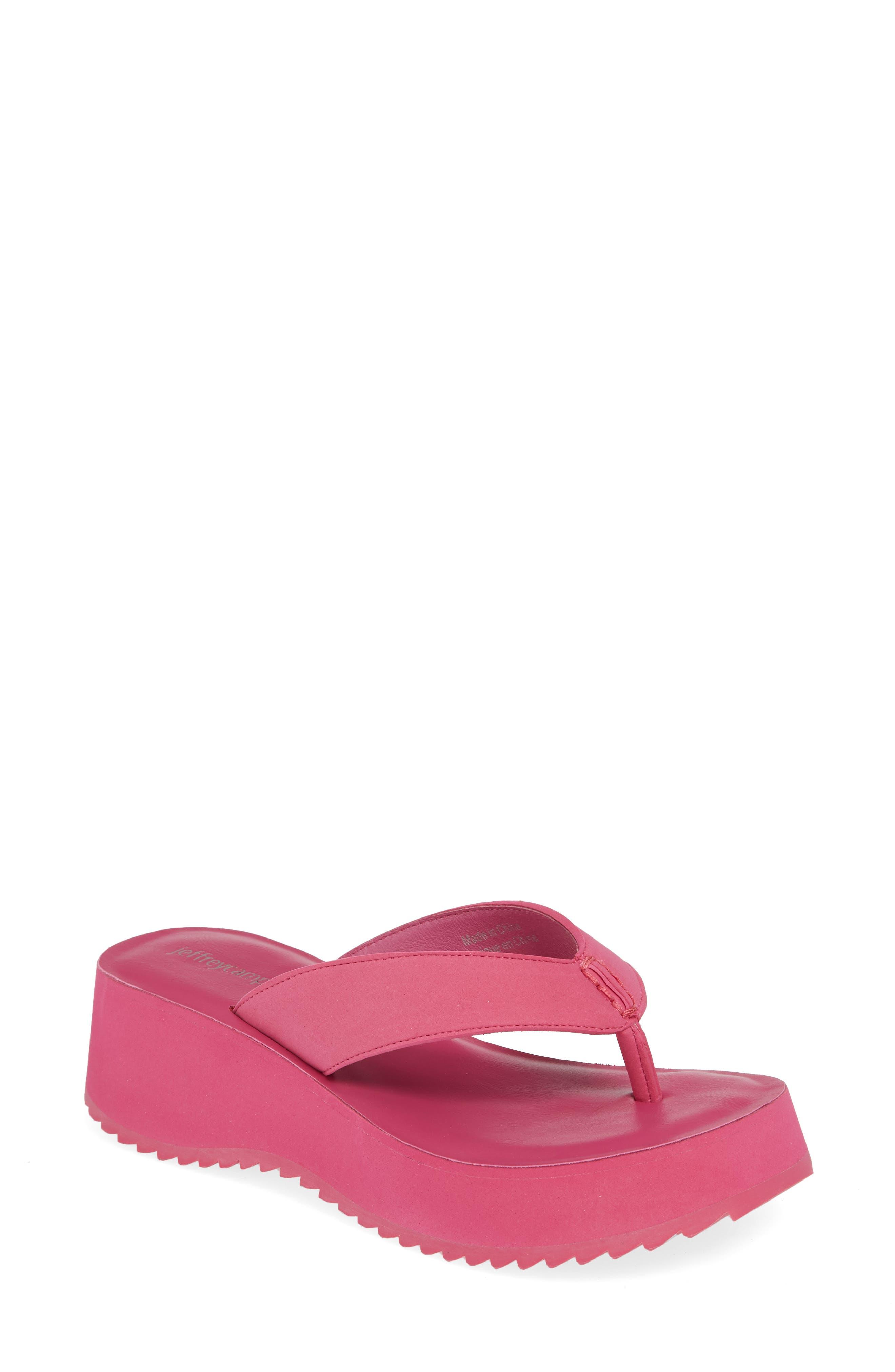 Jeffrey Campbell Platform Flip Flop, Pink