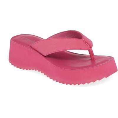 Jeffrey Campbell Diggity Platform Flip Flop- Pink