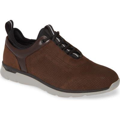 Johnston & Murphy Prentiss Waterproof Sneaker- Brown