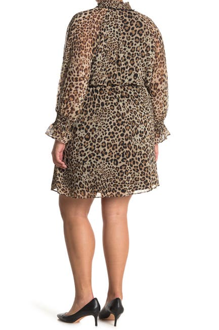 Image of Rachel Roy Lucky Leopard Print Dress