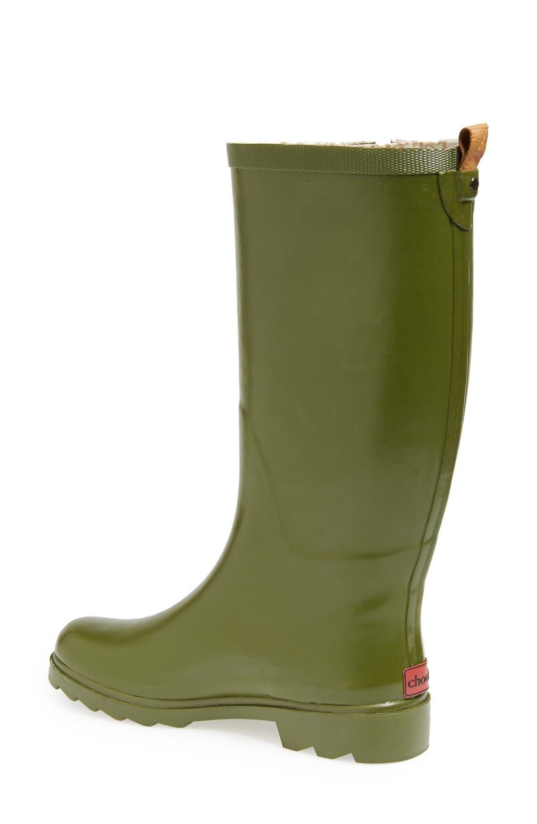 ,                             'Top Solid' Rain Boot,                             Alternate thumbnail 40, color,                             313