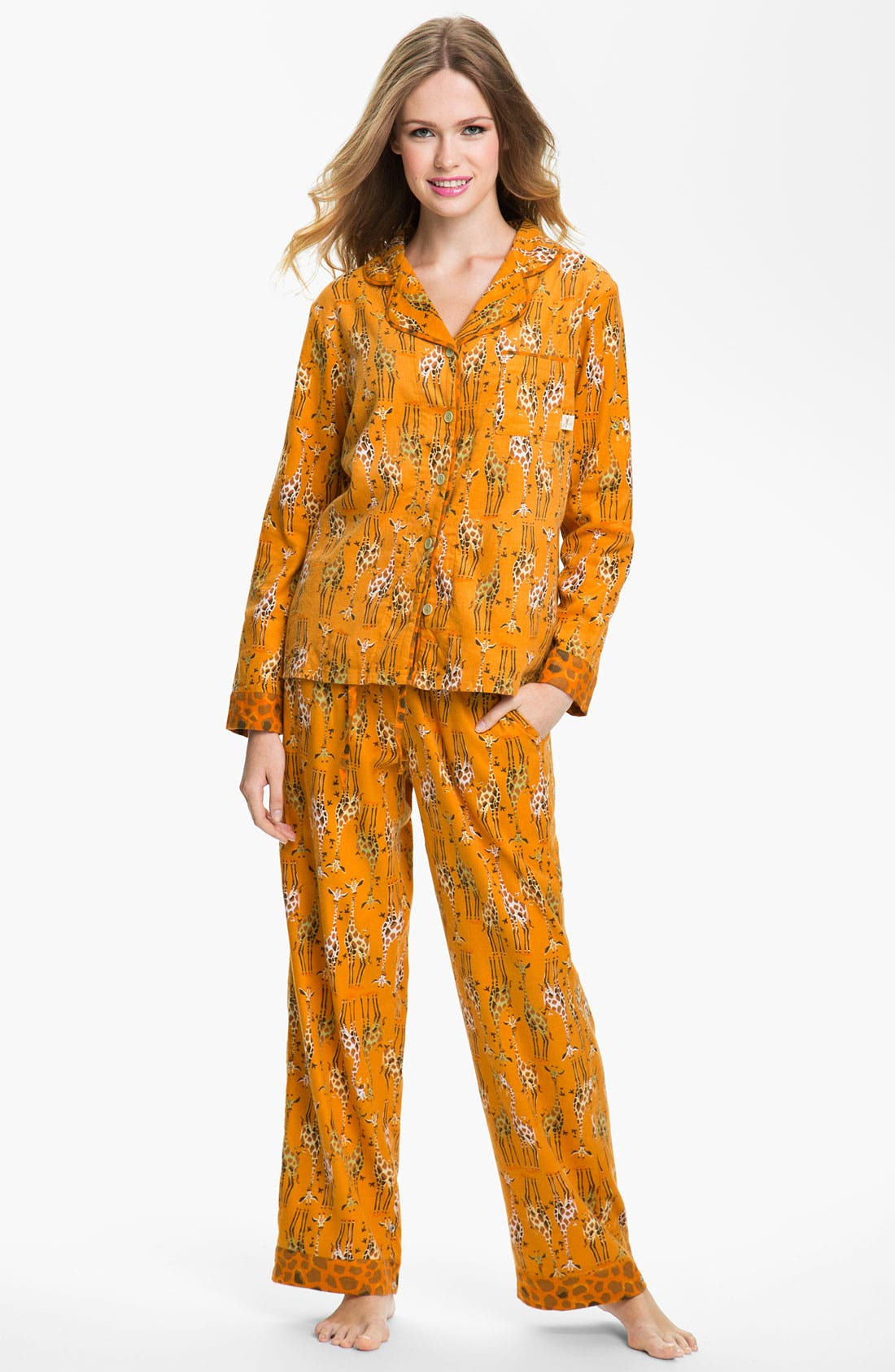 ,                             Flannel Pajamas,                             Main thumbnail 96, color,                             800