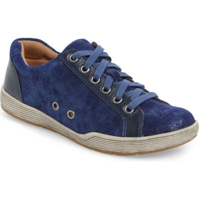 Comfortiva Lyons Low-Top Sneaker- Blue