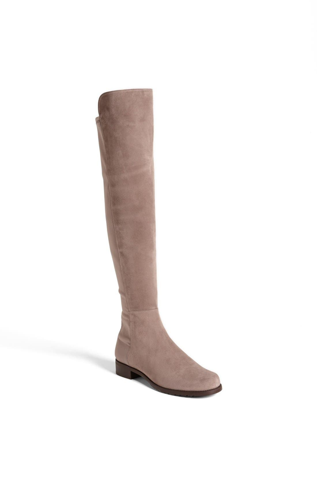 ,                             5050 Over the Knee Leather Boot,                             Main thumbnail 41, color,                             250