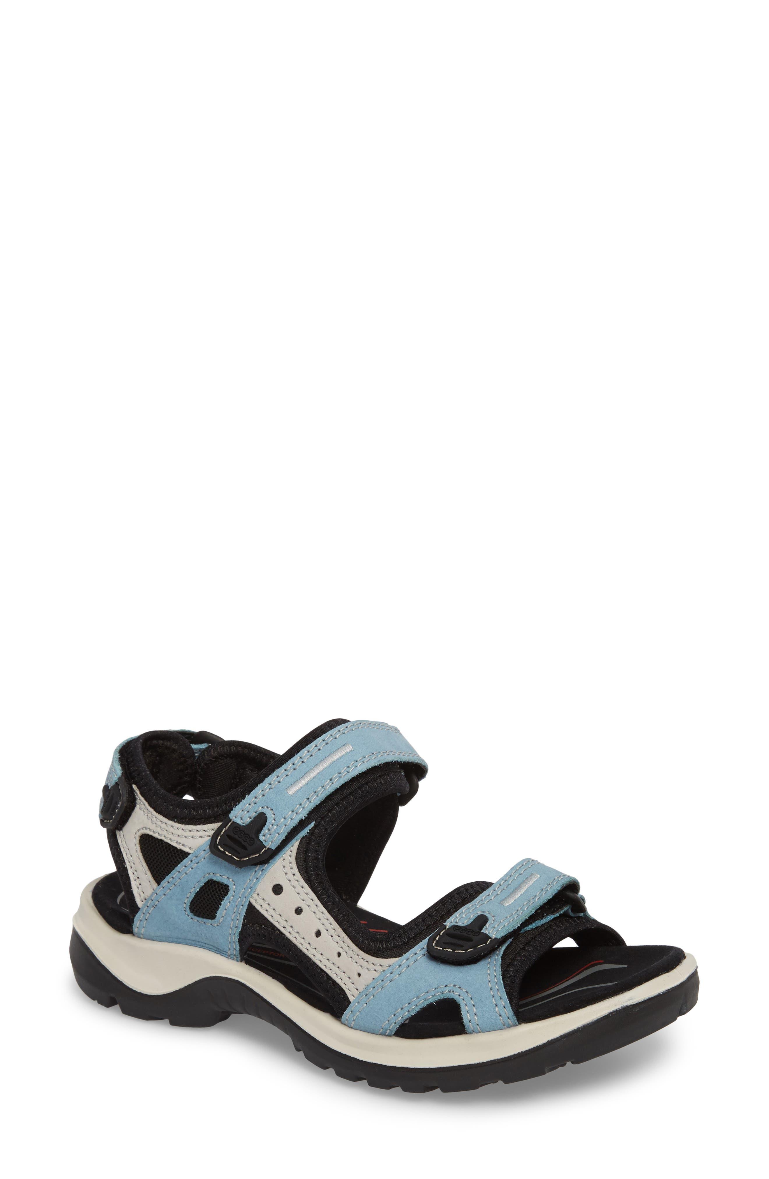 Ecco Yucatan Sandal, Blue